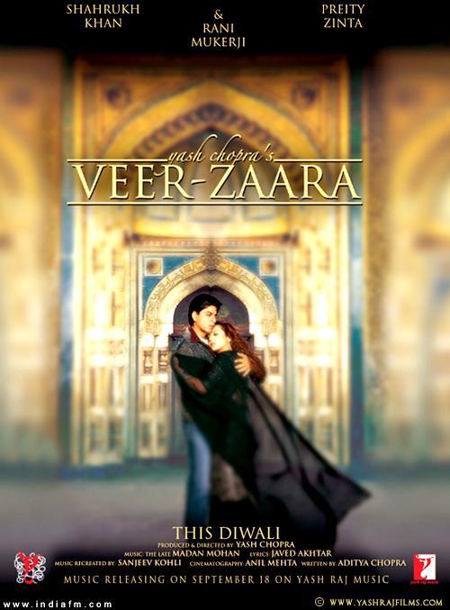 VEER  ZAARA (2.004) con SRK + Jukebox + Making of + Sub. Español Veerzaara